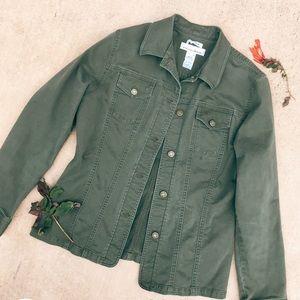 Jones Army Green Jacket